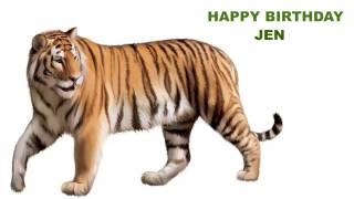 Jen  Animals & Animales - Happy Birthday
