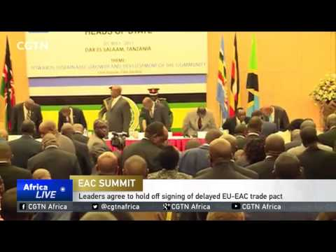 East Africa leaders agree to hold off signing of delayed EU-EAC trade pact