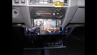 Установка магниолы Hyundai H-CMD4010 в автомобиль ЗАЗ 1103 славута