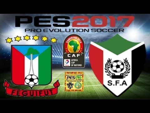 PS4 PES 2017 Gameplay Equatorial Guinea vs Sudan HD