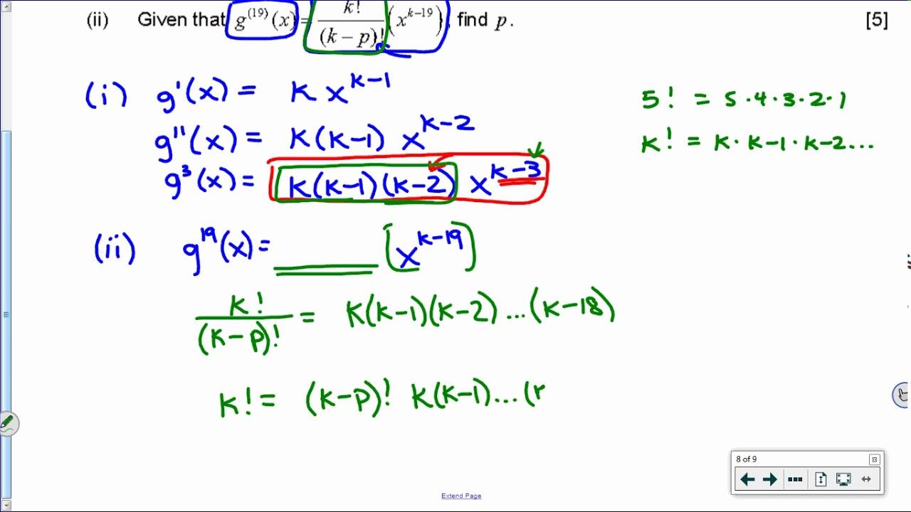 [IB Math SL] Nov 2016 TZ0: Paper 1, Question 10