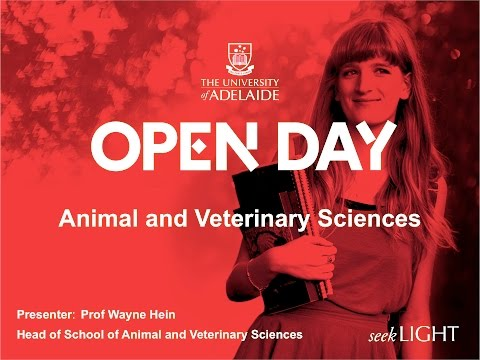 Animal and Veterinary Science - Open Day 2015