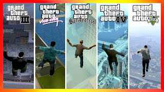 Jumping From the Highest Points | GTA Games