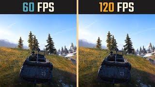 60 FPS vs. 120 FPS Gaming (Slow Motion)