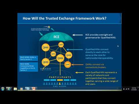 2018 01 19 15 47 Draft Trusted Exchange Framework Webinar Part II  Q   A