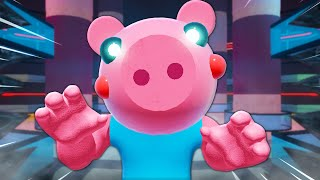George Pig Is Infected?! A Roblox Piggy Movie