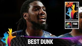 USA v Serbia - Best Dunk - 2014 FIBA Basketball World Cup