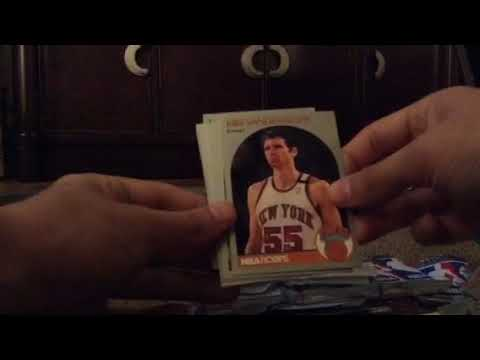 1990-1991 NBA Hoops Basketball Cards Opening Part 1