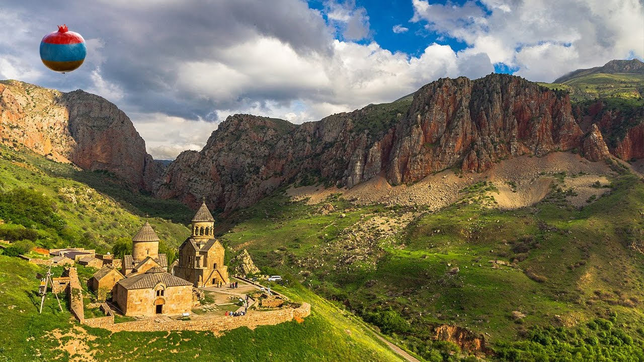 Монастырь Нораванк ( Նորավանք / Noravank Monastery ) - YouTube