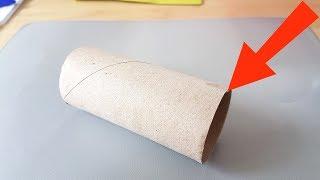 Na próxima vez, traga um rolo de papel higiênico do banheiro e afunde na tinta. Isto ficará lindo!