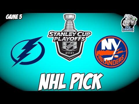 Tampa Bay Lightning vs New York Islanders 6/21/21 Free NHL Pick and Prediction NHL Betting Tips