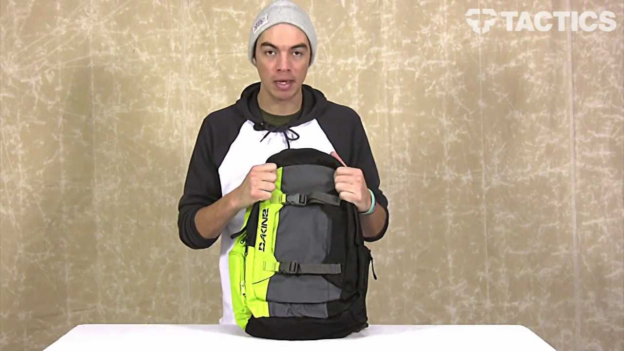 Dakine 2013 Mission Backpack Review - Tactics.com - YouTube