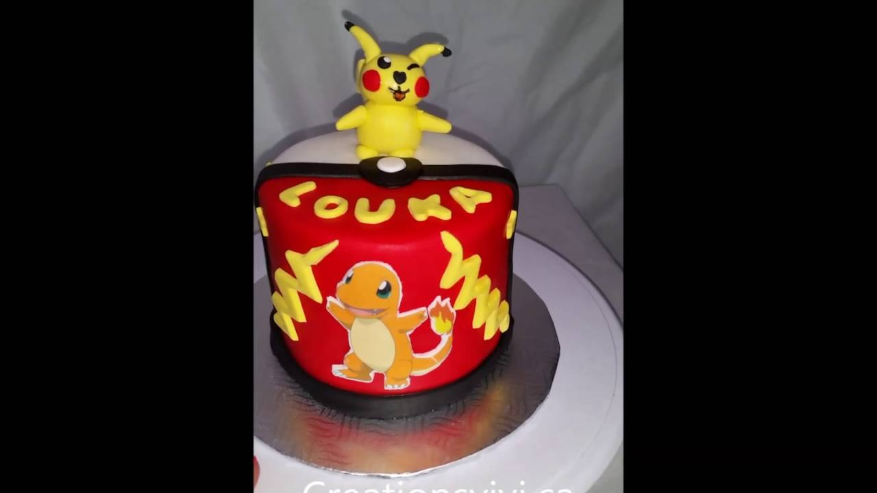 Fabuleux Gateau Pokemon - YouTube NF23