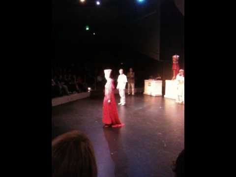 Becca Lichfield in Aida sings opening number