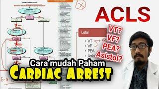 Acls Algoritma Cardiac Arrest (henti Jantung, Ventricular Tachycardia, Fibrilation, Asystole, Pea)