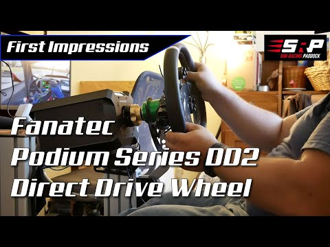 Fanatec Podium Series DD2 Direct Drive Wheel Impressions