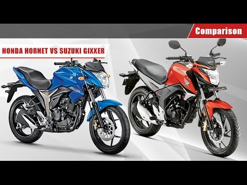 honda cb hornet 160r vs yamaha fz s v2 0 vs suzuki gixx. Black Bedroom Furniture Sets. Home Design Ideas