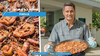 Goma At Home: Sausage And Seafood Paella