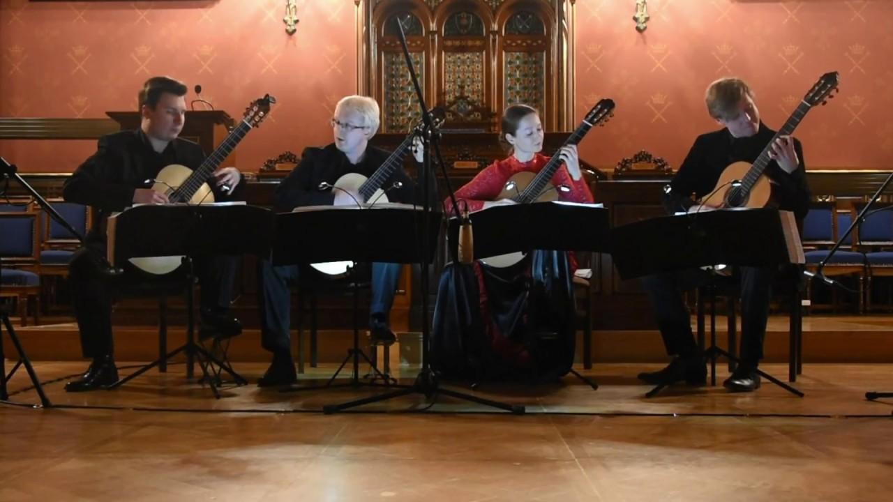 cracow guitar quartet performs l boccherini guitar quintet no 4 in d major g 448 youtube. Black Bedroom Furniture Sets. Home Design Ideas