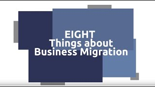 8 Things you need to know about Business Migration for Australia (132, 188 & 888 visa)