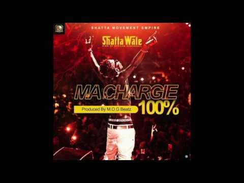 Shatta Wale - Ma Chargie 100% (Audio Slide)