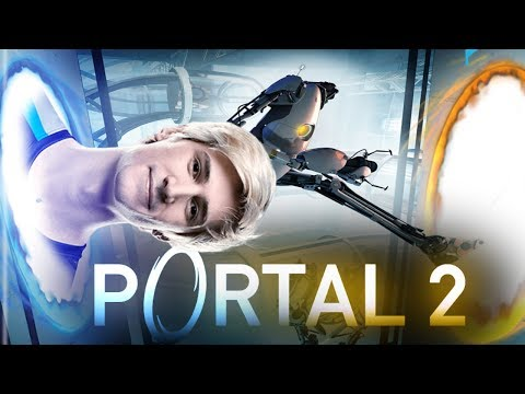 xQc Plays Portal 2 with Moxy and Chat | Part 1