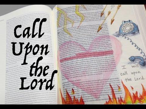 Bible Journaling: A Blameless Heart (2 Chron 16:9) by Monica