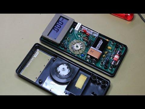 Fluke 77 teardown, calibration and servicing (#008) - YouTube