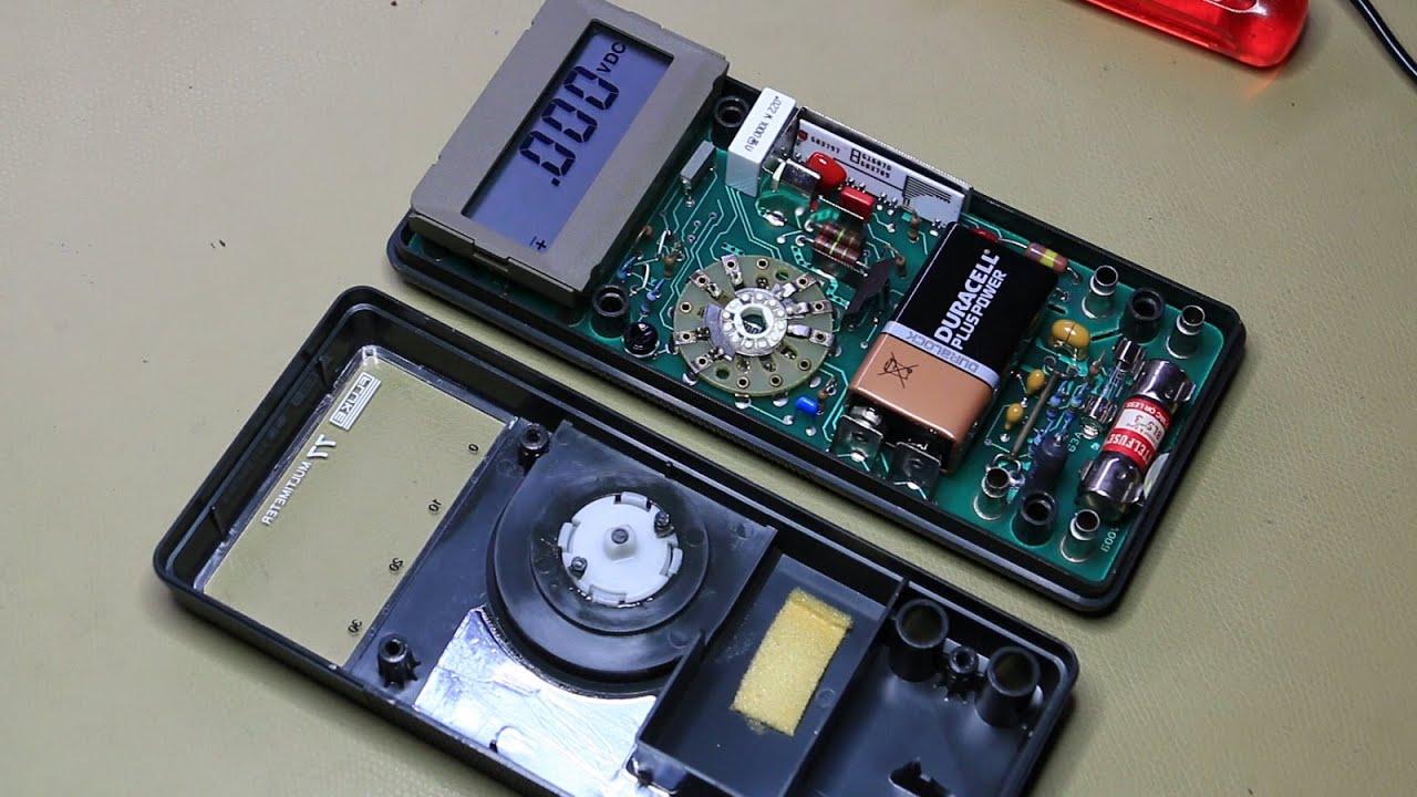 fluke 77 teardown calibration and servicing 008 youtube rh youtube com fluke 77 manual series ii fluke 77 multimeter manual pdf