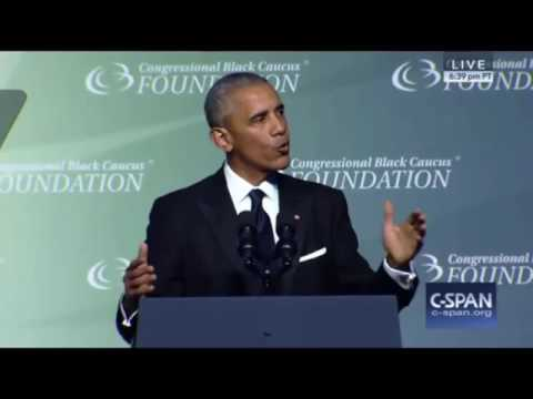 President Obama Congressional Black Caucus FULL Speech 9/17/16