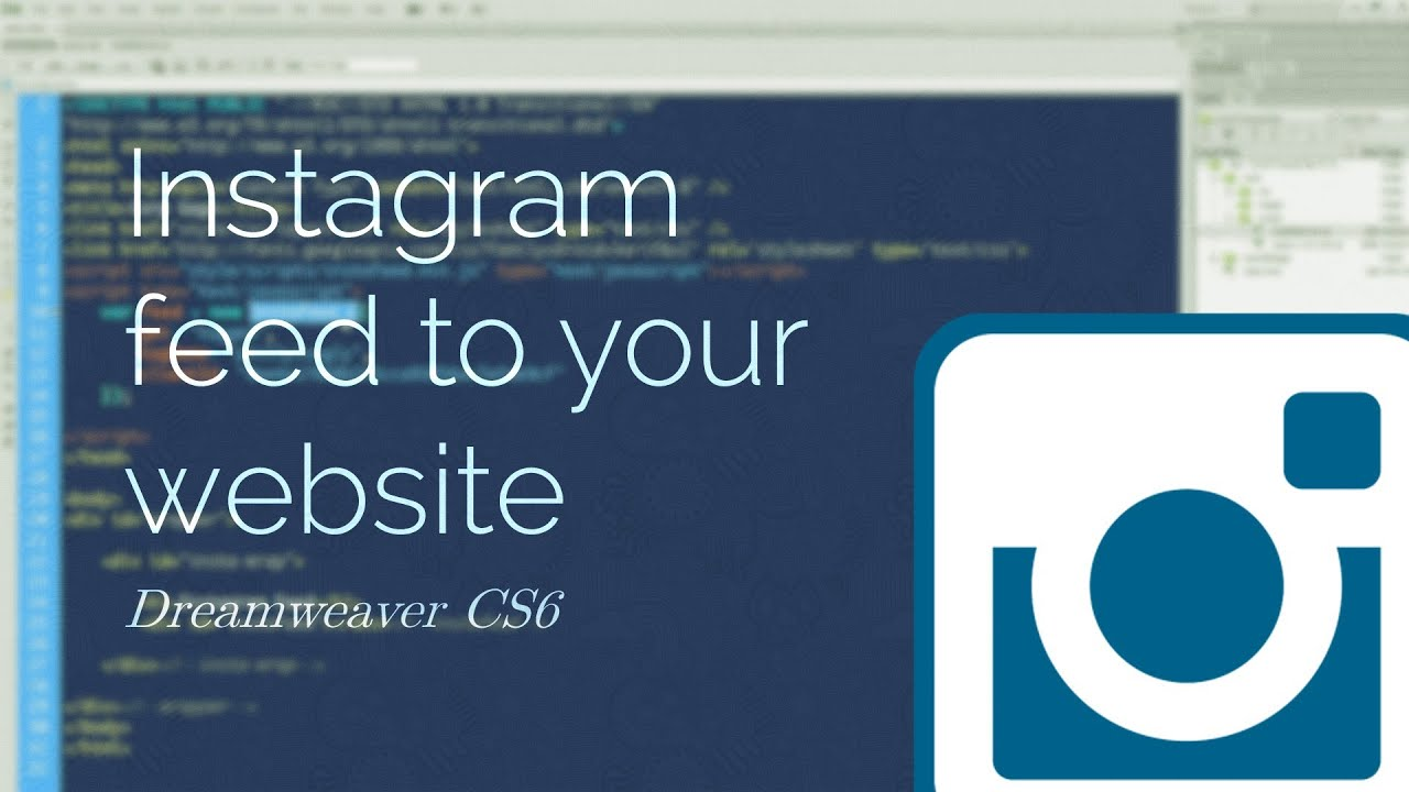 Instagram Feed Into Your Website