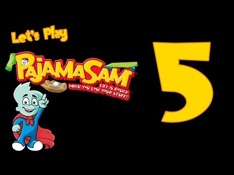 Let's Play Pajama Sam 4 Life is Rough When You Lose Your Stuff  Part 5 |