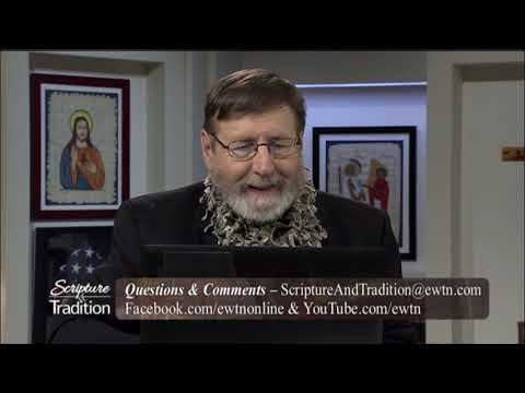 Scripture and Tradition with Fr. Mitch Pacwa - 2020-05-19 - 05/19/2020