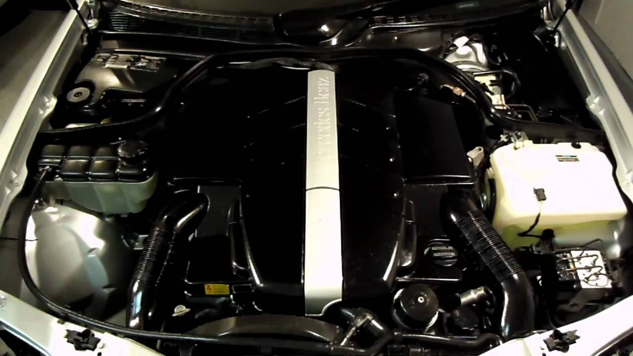 2001 CLK 430 engine start - YouTube