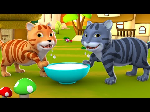 the-monkey-and-two-cats-3d-animated-hindi-moral-stories-for-kids-बंदर-और-दो-बिल्लियों-कहानी-tales