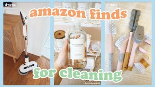 TIKTOK CLEANING HACKS ☁️🧽 Amazon Finds w/ Links