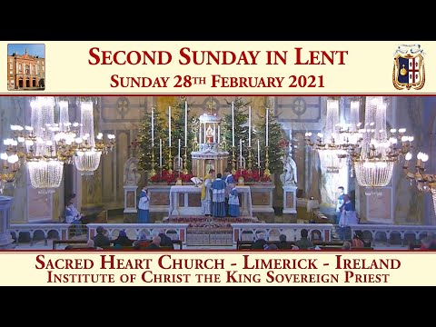 Sunday 28th February 2021: Second Sunday in Lent
