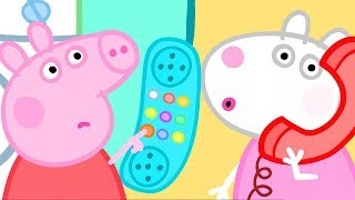 Peppa Pig Official Channel  Whistling Competition Between Peppa Pig and Suzy Sheep