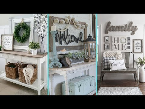 ❤DIY Rustic  Shabby chic style Summer Entryway decor Ideas❤ | Home decor Ideas| Flamingo Mango