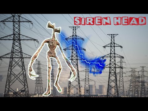 We Trap Siren Head at the Power Station - Siren Head Comes for Us