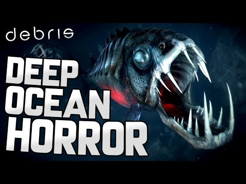 THE SCARIEST UNDERWATER SURVIVAL GAME BY FAR - Debris Beta Gameplay