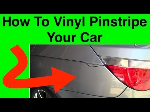 How To Pinstripe Learn To Pinstripe Your Car Simple