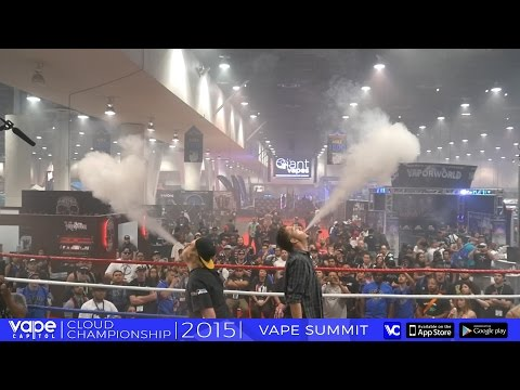 VC Cloud Championships - Vape Summit - Men's Cloud