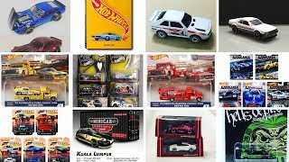 Hot Wheels Book, Audi for 2019, Tarmac Works and more
