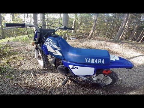 Yamaha 50cc (Mini Dirt Bike) GoPro 1080p!