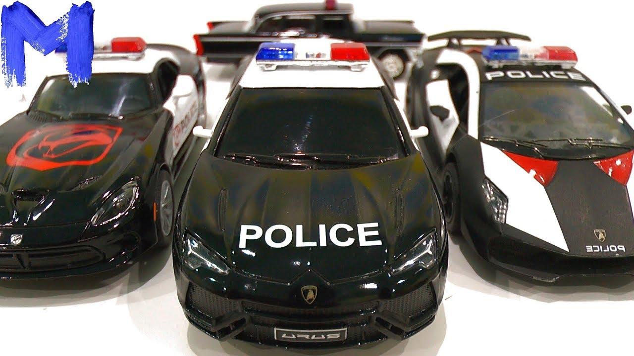 Полицейские машины Видео для детей про машинки Игрушки для мальчика