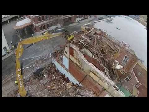 Woolworth Building Demolition Project Haverhill Ma 2015