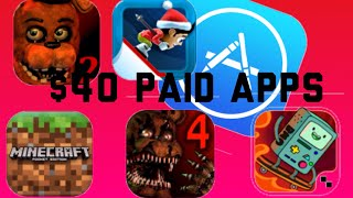 Sharing premium $40 apple id with paid apps for free- how to download paid apps for free on appstore
