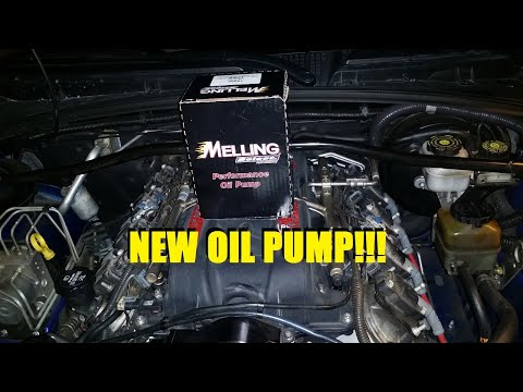 LS Oil Pump Install While In Car
