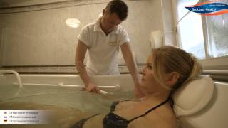 Подводный массаж - Underwater massage(Бывает струйный и пузырьковый. Сильный струйный массаж дает энергию, а мягкий пузырьковый снимает напряжен..., 2015-04-23T11:12:37.000Z)